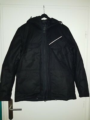 New Barbour Carbon Project International Waxed Carbo Jacket Medium 676 $
