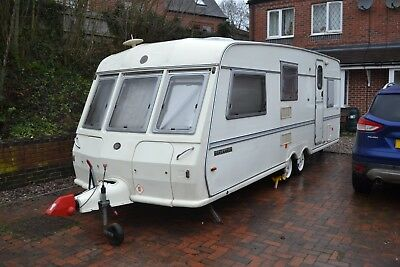 approx 1997/8  Buccaneer Cruiser ,  twin axle caravan  alloy wheels