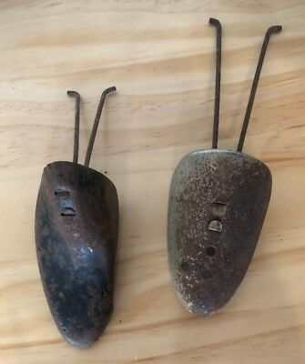Rusty Vintage Shoe Stretchers - X 2 - Used