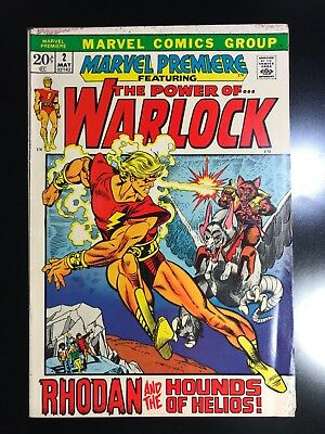 Marvel Premiere #2 — 1972 — 1st REAL Appearance Of Adam Warlock
