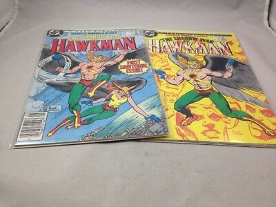 Shadow War of Hawkman # 1 & 2 DC Comics 1985 Dick Giordano Covers Unread NM