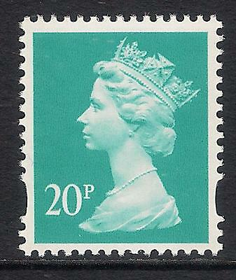 GB 1993 sg Y1684 20p Turquiose-Green photogravure 2 bands MNH ex Y1679