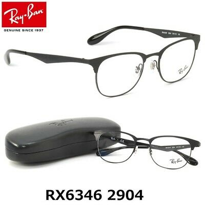 17fd4a33710 Brand New 2019 Ray Ban Eyeglasses Rb 6346 2904 Aviator Rx Authentic Frame  Italy