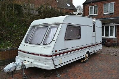 1995 Swift Challenger 470 se 2 berth caravan ,full awning and annex, alko