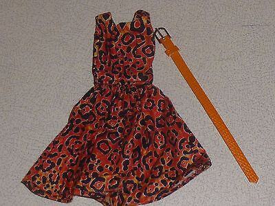 OOAK outfit - handmade dress and belt for Fashion royalty, Barbie, Silkstone