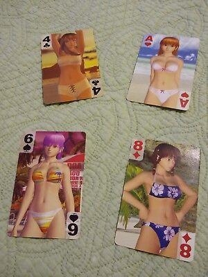 Rare Dead Or Alive Xtreme Beach Volleyball 1 promo card set