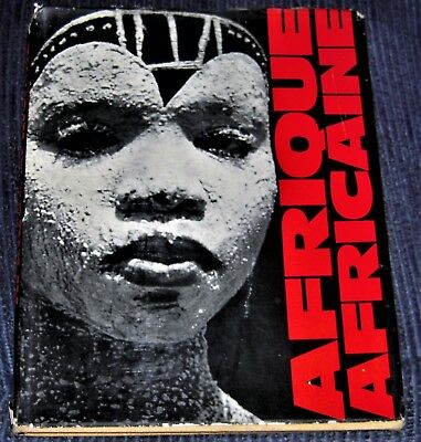 1963 Africa photo book AFRIQUE AFRICAINE by MICHEL HUET 1st edition photography
