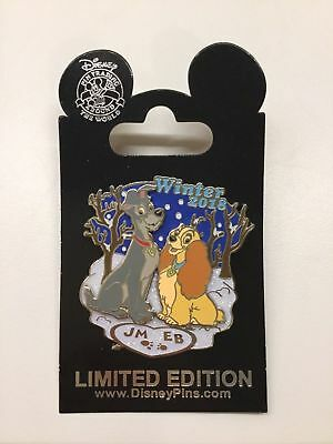 Disney Parks Winter 2018  Lady and the Tramp pin