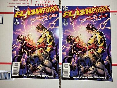Flashpoint #5 (DC 2011) Andy Kubert Cover Geoff Johns Story 2 copy LOT