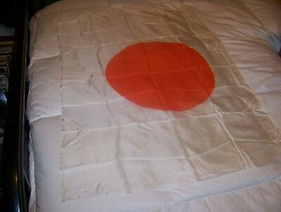 "Silk Japanese Rising Sun Parade flag 36"" x 26"""