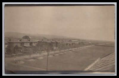 Romania, View From Boarding House Rppc By R R Rakestraw, Real Photo Postcard