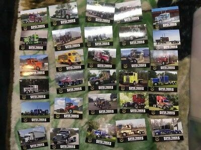 Cat Scale Super Trucks Limited-Edition Series 17 60 cards Set