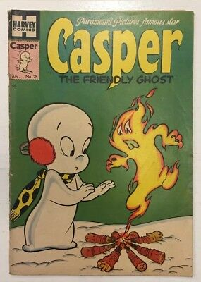 Golden Age Harvey Comics Casper the Friendly Ghost # 28 January 1955 10 Cent CVR