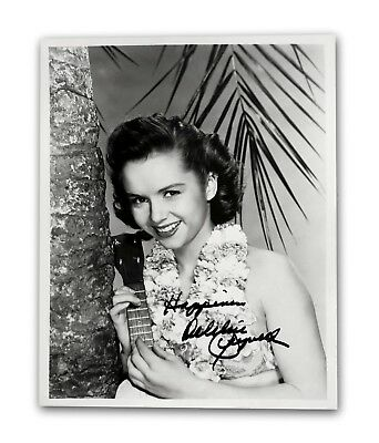 Debbie Reynolds Signed 8X10 Photo Jsa Coa Autograph The Unsinkable Molly Brown