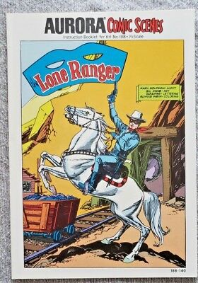* Aurora Comic Scenes LONE RANGER (MT 9.8) from an ORIGINAL OWNER Collection *