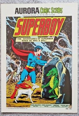 * Aurora Comic Scenes SUPERBOY (MT 9.8) from an ORIGINAL OWNER Collection *