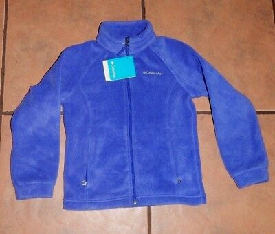 NWT----Columbia June Lake Fleece Jacket- Grape Purple Youth Girls Size SMALL