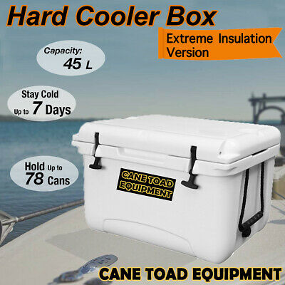 45L Hard Cooler Ice Box RT Chilly Bin Esky Camping Picnic Fishing 2in1 Thermal C