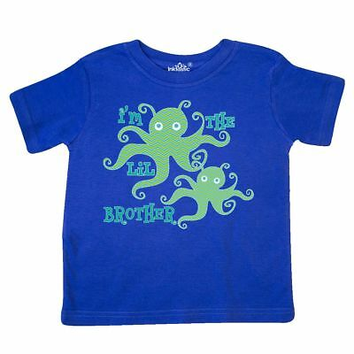 Inktastic Little Brother Octopus Boys Toddler T-Shirt Im The Siblings New Baby
