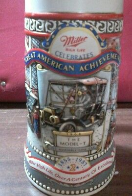 Miller High Life Great American Achievements The Model-T