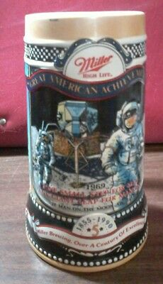 Miller High Life Great American Achievements 1969 One Small Step for Man......l