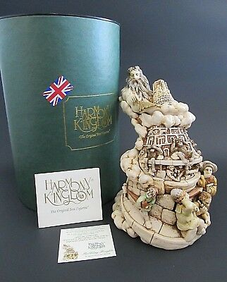"""Harmony Kingdom """" Babbling Heights Limited Edition TJLETO - Mint in Box!"""