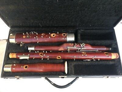King Symphony Bassoon for parts or repair with case