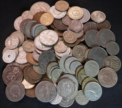 Russia, Romania, Bulgaria, Hungary, Etc, About 1 Lb Of Coins From Eastern Europe
