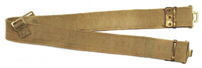 Vintage Original Large British P37 Equipment Belt Khaki