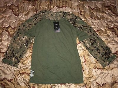 US Navy Crye Precision Drifire AOR2 G3 Combat Shirt, Large Long, Navy Seal