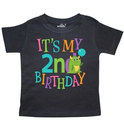 3a59a8337 Inktastic 2nd Birthday Monster 2 Year Old Toddler T-Shirt Im Childs  Clothing Kid