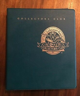 Anheuser-Busch 1995 Charter Year Membership Collector's Club Book
