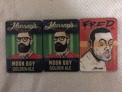 Murray's Moon Boy Fred IPA Tap Beer Decal Acrylic Plaques Badge Top FREE POSTAGE