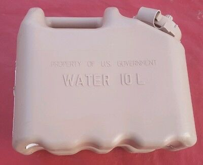 Scarce! US ARMY NEW Scepter Sand Tan Jerry WATER Can REAL Military MWC 2.5gl 10L