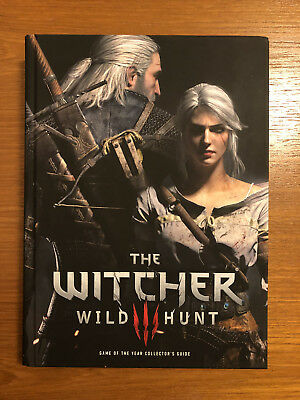 The Witcher 3 Wild Hunt Collector's Guide Hardback New