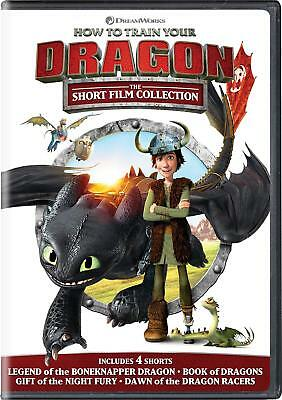 How to Train Your Dragon: The Short Film Collection (DVD, 2019) Brand New