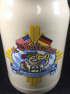Holloman Air Force Base 16th OKTOBERFEST beer STEIN 0.5 Liter German