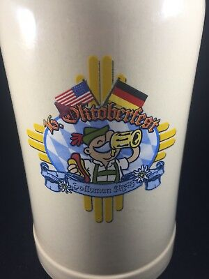 Holloman Air Force Base 16th OKTOBERFEST beer STEIN 1 Liter German EUC