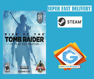 Rise Of The Tomb Raider 20 Years Celebration PC Steam Key