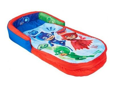 P J Masks Junior ReadyBed - Inflatable Kids Air Bed and Sleeping Bag Camping