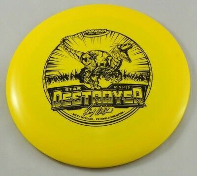 NEW Star Destroyer 175g Driver Yellow Innova Disc Golf Celestial Discs