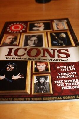 Q Magazine Special editions.ICONS The greatest music stars of all time !