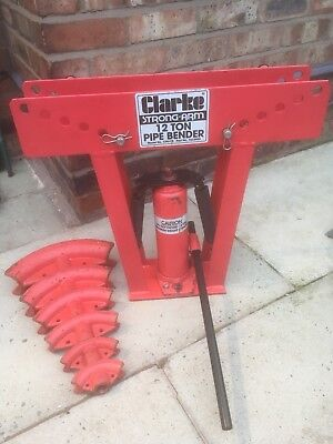Clarke  Strong Arm 12 Ton Pipe Bender