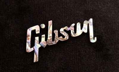 Gibson Logo Mother of Pearl Rainbow Headstock Les Paul Standard From Korea