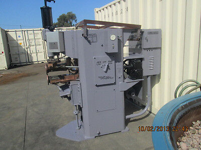 Taylor Winfield 75 Kva Seam Welder With Controls , Resistance, Spot