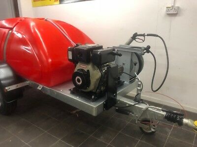 Pressure Washer Jetter Towable Western Bowser