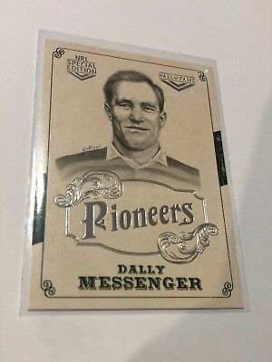 2018 NRL Glory Pioneers Insert Card - Dally Messenger - Hall Of Fame - PS 03