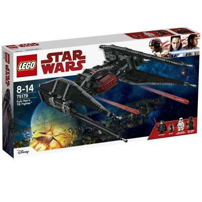 Lego 75179 Star Wars Episode 8 Raumschiff Kylo Ren's TIE Fighter 3 Mini Figuren