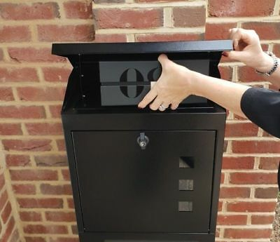 The Ultimate Parcel Box  ! Theft-Waterproof-Parcel Letter Mailbox All-In-One