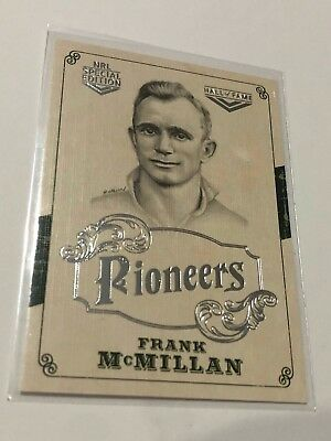 2018 NRL Glory Pioneers Insert Card - Frank McMillan - Hall Of Fame - PS 19